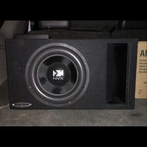 Other | 12 Inch Subwoofer With Ported Box Tuned To 30hz
